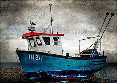 Fishing Boat. (Petefromstaffs) Tags: southwold fishing boat textured seaside seascape elements