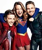 Supergirl, the Flash, and Green Arrow (Guardian Screen Images) Tags: melissa benoist kara zorel danvers supergirl kryptonian super girl woman 2015 tv series show superhero superheroes hero heroes superheroine heroine heroines superheroines lycra the flash 2014 grant gustin barry allen fastest man alive scarlet speedster speed fast dc comic comics book books spin off spinoff cw netowrk warner bros brothers television crimson network green arrow archer streak red lightning oliver queen stephen amell