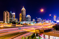 CES_3450 (CesarAVasquez) Tags: atlanta atl buildings downtown peachtree trails long exposure tokina 1224 nikon d7000 wide angle blue red