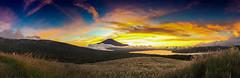 Sunsets Fuji Panorama (shinichiro*) Tags:    jp 20161009img5339 2016 crazyshin appleiphone6plus iphone fuji lakeyamanaka    yamanashi japan  panorama