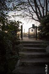Une porte sur Paris (Hermann.Click) Tags: paris street garden door contrejour escalier jardin paysage tour effeil