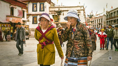 Tibet, eye contact, two women and a kid on the back (Lhasa, China), 06-2016, 84 (Vlad Meytin, vladsm.com) (Vlad Meytin   Instagram: vmwelt) Tags: chengguan china khimporiumco meytin tibet tibetan vladmeytin art artgallery artists artphoto artworld asia carlzeiss chinese clothes fe5518 gallery highaltitude kid local photography photographyart pictures sony sonya7 sonyalpha street streetphotography summer vladsm vladsmcom vmwelt walking women zeiss