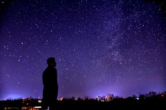 A young boy looking to stars... (Shafiq.Bakhtary) Tags: nikond7200 18140mm 18mm afghanistan nightphotography mazaresharif balkh stars sky milkyway youngboy