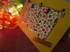 first Christmas card 341/366 (dawn.v) Tags: christmaslights christmascard athome lights hamworthy poole dorset uk england december 2016 lumixlx100 366daysin2016 2016yip handmade
