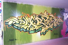 Graffiti140402 - 88 (Ruhrgebiets Farben) Tags: graffiti 2002 hall fame schrenkamp tunnel gladbeck