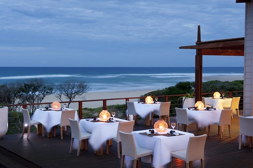 White Pearl - Outdoor dining with a view