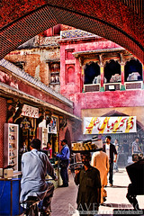 Bazar (NaveedBaig03) Tags: mosque lahore bazar oldcity wazirkhan