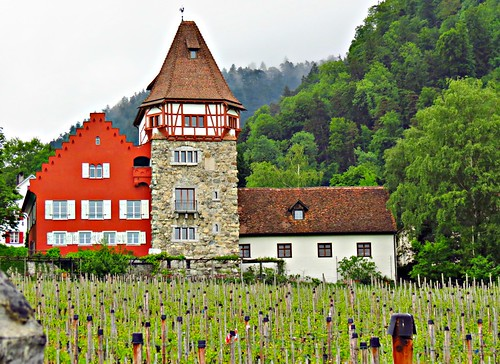Rotes Haus, Red House, Liechtenstein