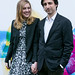 Director Noah Baumbach and Greta Gerwig outside the Filmhouse before a screening of their film, Frances Ha