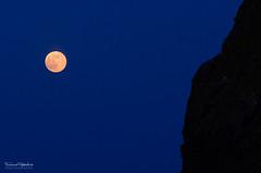 Pink Supermoon (ciccioetneo) Tags: italy moon luna sicily redmoon acitrezza pinkmoon perigee perigeo supermoon ciccioetneo cyclopsriviera flickrandroidapp:filter=none supermoon2013 pinksupermoon 23giugno2013 june23th2013