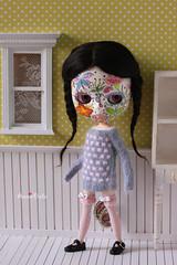 My pretty mask girl Mia :)