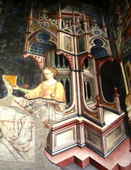 Studying Geometry (YIP2) Tags: italy painting italia paintings medieval middleages fresco renaissance umbria frescoes foligno palazzotrinci gentiledafabriano italianpainting italianpainters trinci ottavianonelli jacopobellini