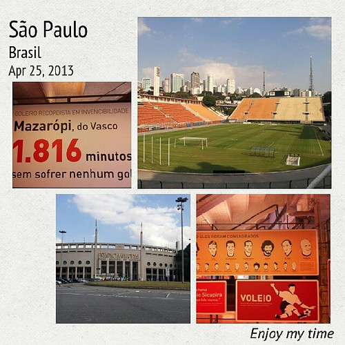 Nas minhas férias conheci o Museu do Futebol. #igerssaopaulo #instagrammers #saopaulo #Brasil #Brazil #statigram #photooftheday #bestoftheday #pictureoftheday #picoftheday #photo #photography #funbestoftheday #instagood #instadaily #instagramhub #instahub