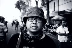 (Cak Bowo) Tags: portrait bw film 35mm indonesia nikon photographer pointandshoot pocket surabaya compact yellowfilter fotografer potret eastjava selfdevelop l35ad luckyshd100 nikonl35ad micromf jalantunjungan