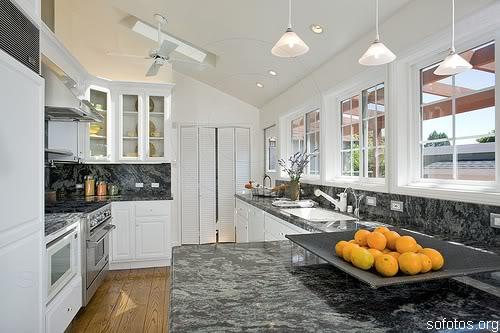 Cozinha planejada de granito