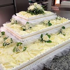 #torta #matrimonio #pasticceriapeggi #follonica #cake #cakedesign #photooftheday