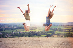 Jumping - Day 319/365 (Sasha L'Estrange-Bell) Tags: jump jumping sashabell oliviabell sashabellphotography tbsart