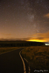 Passing Place (Tracy_May) Tags: sky night dark stars shower scotland greenock meteor milkyway perseids 2013 lochthom