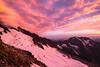 Sahale Arm (TroyMasonPhotography) Tags: pink sunset sky orange snow color rock clouds climb purple hike glacier cascades summit washingtonstate rockclimbing northcascades mountaineers marblemount sahale bostonbasin sahalearm sahalemountain sahaleglacier mountainclimb sahalepeak cascaderiverroad sharkfintower troymasonphotographycom