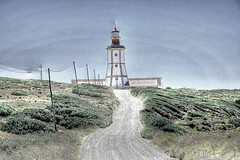 Painted Lighthouse (sayo80) Tags: lighthouse portugal faro portogallo