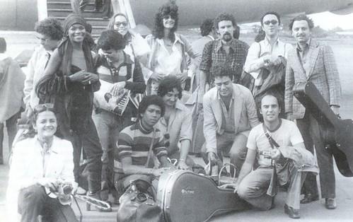 Embarcando para Cuba