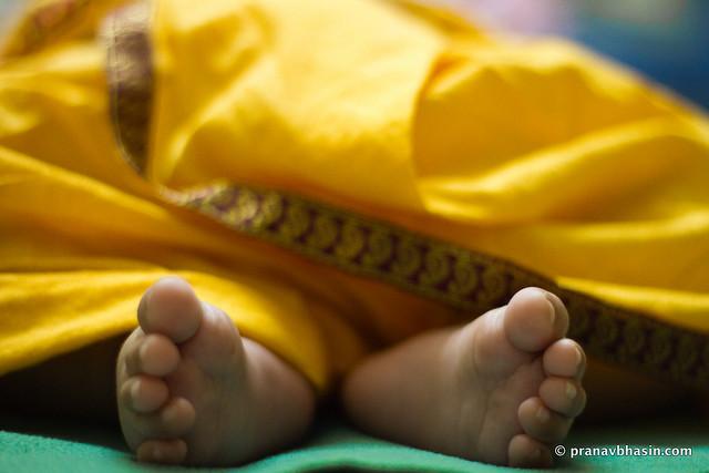 Baby Feet Symmetry