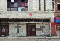 Lawndale Theater (BalineseCat) Tags: chicago abandoned movie theater palace roosevelt lawndale