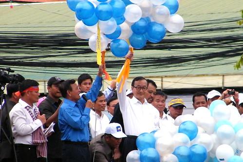 Sam Rainsy & Kem Sokha