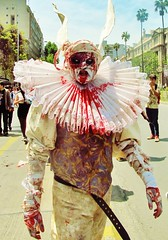 ZombieWalk Santiago 2013 (Mortrivo) Tags: chile santiago circus zombie walk zombiewalk