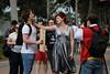 Strangled (Dale Gillard) Tags: melbourne armslength victoria strangled flemington handsoff armageddonexpo