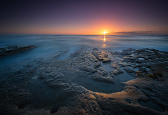 """Incoming Tide"" (Waldemar*) Tags: california longexposure sunset usa nature water nikon rocks sandiego tide shoreline lajolla pacificocean shore westcoast tidepools pacificcoast singhray leefilter afs1735mmf28d ☆thepowerofnow☆ d800e"