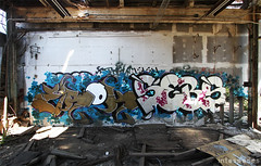 (Into Space!) Tags: ny newyork abandoned graffiti li photo factory decay longisland warehouse graff rundown sebs urbex swk erok intospace intospaces