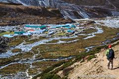 Chukhung Village, Khumbu, Nepal (Feng Wei Photography) Tags: travel nepal color beautiful horizontal trekking trek landscape scenery colorful asia view outdoor scenic landmark unesco stunning vista remote himalaya majestic khumbu everest himalayas breathtaking trekker sagarmatha solukhumbu chukhung chukhungri chukhungvalley