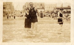 chicago (northernkite) Tags: 1920s chicago beach swimming swim suits grandparents