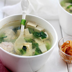 Tofu soup (10space) Tags: food tofu recipes