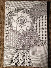 Original Doodle by PLHill (Sensational64) Tags: drawing freehand doodles zentangles uploaded:by=flickrmobile flickriosapp:filter=nofilter