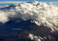 Down to the Clouds (Shaid Photography) Tags: travel blue sky color detail nature beauty weather clouds skyscape airplane landscape photography flying amazing colorful pretty awesome flight peaceful views breathtaking perfection