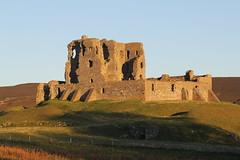 Rugged Ruin (Gazasal) Tags: blue light sun green castle stone scotland near ruin walls moray dufftown achindoun gazasal