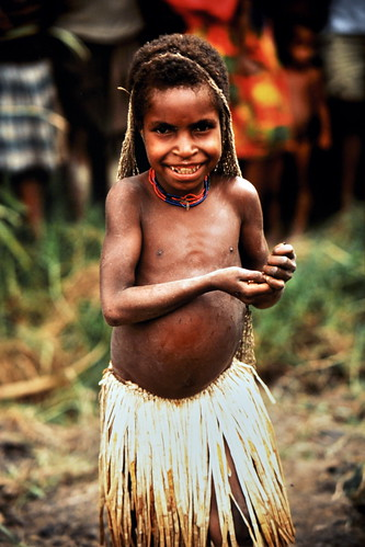 Western New Guinea - Baliem Valley - Dani Girl - 13