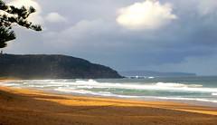 Palm Beach Australia (Home and Away) (Andy.Gocher) Tags: ocean sea sky seascape tree beach clouds lumix coast sand australia palm panasonic 2012 andygocher