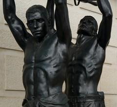 Armed Forces Memorial by Ian Rank-Broadley (jacquemart) Tags: bronze lichfieldcathedralstchads armedforcesmemorialianrankbroadley