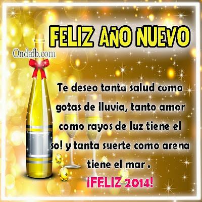 Frases De Amor 4 Imágenes De Feliz Año Nuevo 2014 Para Mi