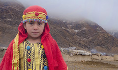 Wilderness ! (Commoner28th) Tags: winter pakistan red chimney afghanistan cold girl beautiful beauty weather childhood fog hope freedom costume colorful pretty december village dress smoke traditional foggy tranquility happine