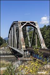 RPBC 846-60 (Richards Photography BC - Vancouver BC) Tags: camera bridge trees winter sky snow canada cold ford abandon