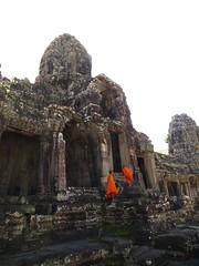 Cambodia - Buddhist students at Angkor Wat - Cambodia