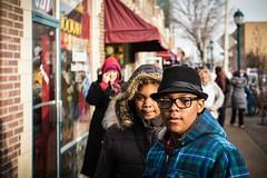 Stylish (Ben at St. Louis Energized) Tags: city urban fashion stlouis neighborhood sidewalk pedestrians stl universitycity delmarloop