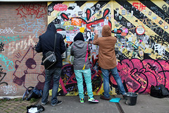 klebos (wojofoto) Tags: streetart amsterdam stickerart action stickers ndsm stickercombo