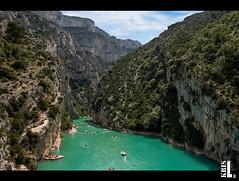 Gorge du Verdon (Christophe Luczak) Tags: france water beautiful spring eau kayak gorge provence gorges verdon ete aiguines moustiers gorgeduverdon moustierssaintemaire
