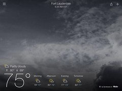 Yahoo using my photos as backgrounds for its weather app (Symbiosis) Tags: chicago print published professionalphotographer publications freelancephotographer daneidsmoe danieleidsmoe photographerdaneidsmoe