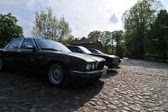 At the castle (Pim Stouten) Tags: germany deutschland jag jaguar treffen jork